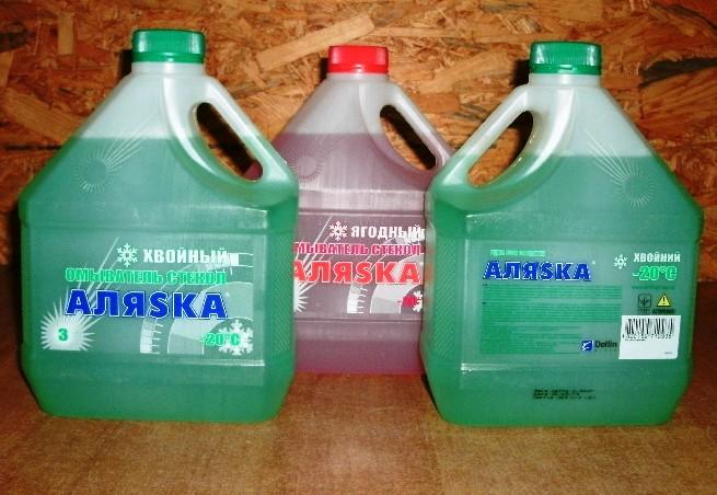 Жидкость стеклоомывающая зимняя -20С (3л)