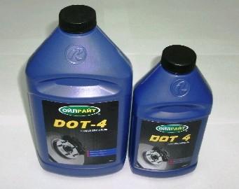 Жидкость тормозная DOT-4 OIL RIGHT (400гр.)