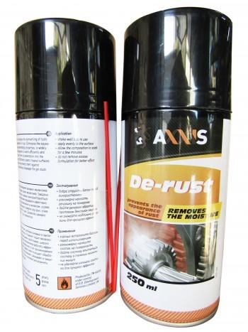 Ср-во для смазки и покрытия деталей 250ml (AXXIS)
