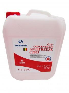 Антифриз концентрат Solventis (10 кг) красный G12+