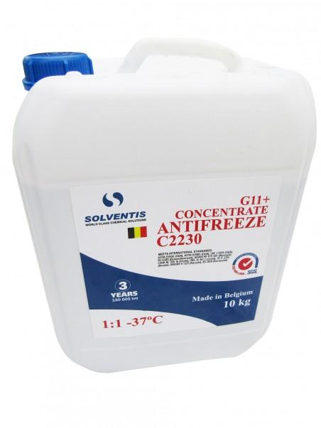 Антифриз концентрат Solventis (10 кг) синий G11+