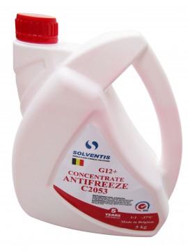 Антифриз концентрат Solventis (5 кг) красный G12+