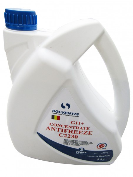 Антифриз концентрат Solventis (5 кг) синий G11+
