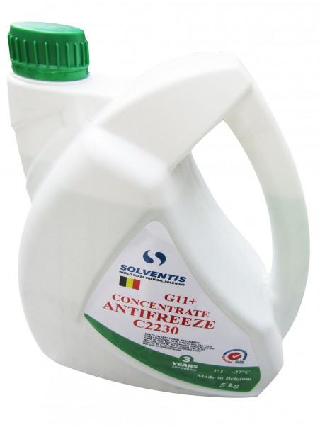 Антифриз концентрат Solventis (5 кг) зеленый G11+