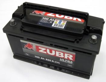 Аккумулятор 6СТ-100 ZUBR ULTRA 820A,R