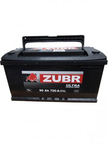 Аккумулятор 6СТ-90 ZUBR ULTRA 720A,L
