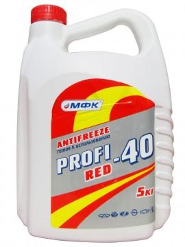 Антифриз красный (t-40) (4.5кг)