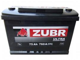 Аккумулятор залитый 760А, (278x175x190)