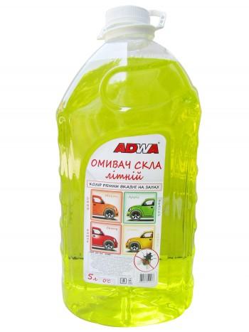 Жидкость стеклоомывающая летняя (лимон) (5л)