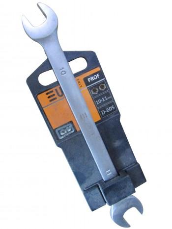 Ключ рожковый 10х11мм (EURO LINE)