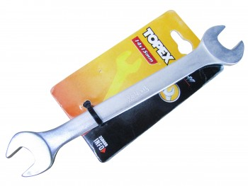 Ключ рожковый ХВ, 14x15мм (TOPEX FRA)