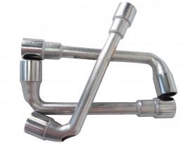 Ключ трубчатый 19мм изогнутый (EGA)