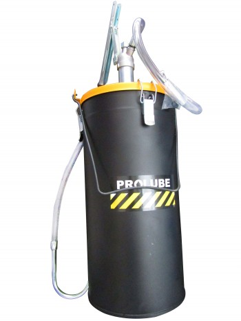 Нагнетатель масла рычажный с емкостью 12л, шланг ПВХ 1,2м