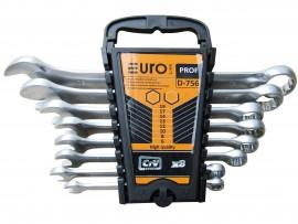 Набор ключей рожково-накидные (8шт) (EURO LINE)