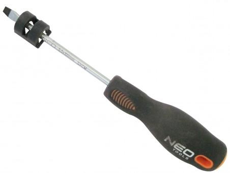 Отвертка шлицевая 5.5х100мм (NEO)