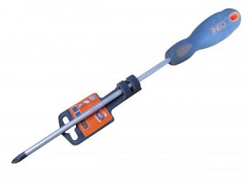 Отвертка шлицевая PH2x200мм (NEO)