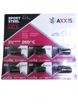 Сварка холодная (планшет 6 шт х 5гр) AXXIS