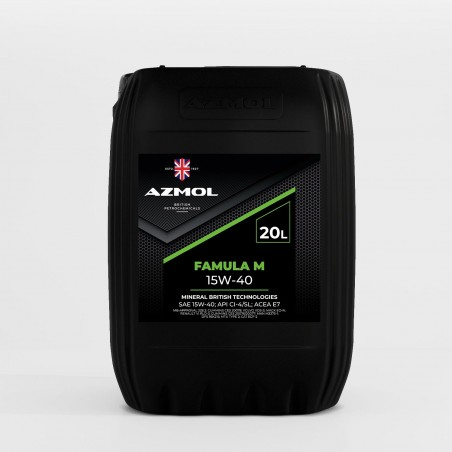 Масло моторное AZMOL Famula 15W-40 (20дм/17.5кг)