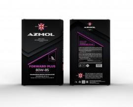 Масло трансмиссионное AZMOL Forward Plus 80W85 GL-4 (1дм/0.85кг)