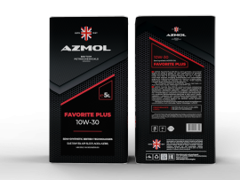 Масло моторное AZMOL FAVORITE PLUS 10W-40 (5дм/4.4кг)