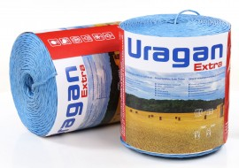Шпагат для пресс-подборщика (бухта 9кг) голубого цвета