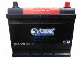 Аккумулятор залитый 540А (261х175х200/220, D26, 570 29)