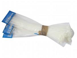 Хомут пластмассовый 350х4.7 (50шт) (белый)