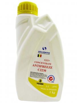 Антифриз концентрат Solventis (1 кг) жовтий G11 +