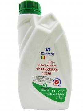 Антифриз концентрат Solventis (1 кг) зелений G11 +
