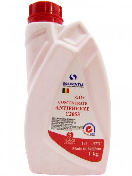 Антифриз концентрат Solventis (1 кг) красный G12+