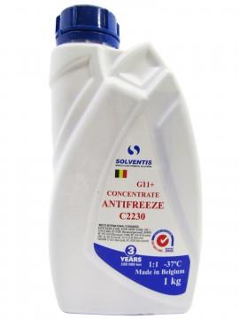 Антифриз концентрат Solventis (1 кг) синій G11 +