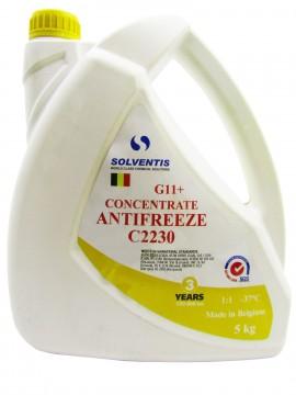 Антифриз концентрат Solventis (5 кг) жовтий G11 +