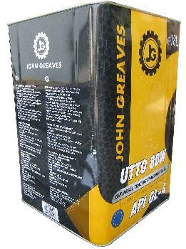 Масло универсальное UTTO 80W (18дм) (John Greaves)