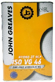 Масло гидравлическое Hydro ZF HLP 46 (18дм) (John Greaves)