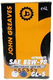Масло трансмиссионное Synth EP Getriebeo 80W90 GL-5 (4дм) (John Greaves)