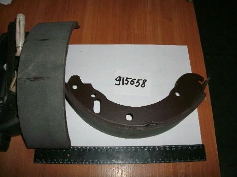 Колодка тормоза заднего (ДК)