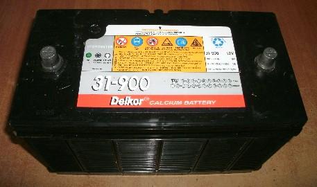 Аккумулятор залитый (31-900)