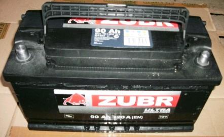 Аккумулятор 6СТ-90 ZUBR ULTRA 720A R