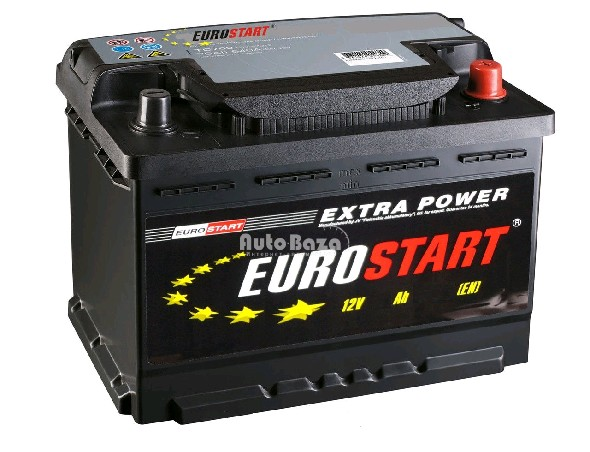 Аккумулятор 6СТ-60 Extra Power 480A, L