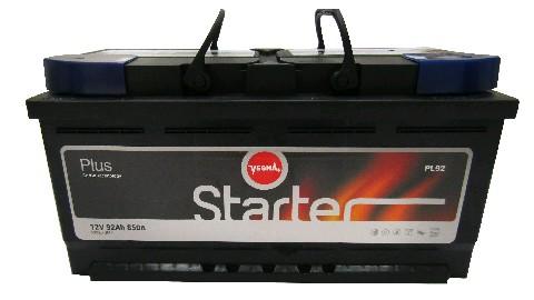 Аккумулятор 6СТ-92 STARTER VESNA 850А R