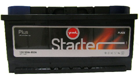 Аккумулятор 6СТ-92 STARTER VESNA 850А L