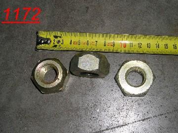 Гайка колеса переднего наружная (резьба прав.) М20х1.5 (ГАЗ)