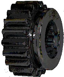 Шестерня 3 передачи КПП Z-21