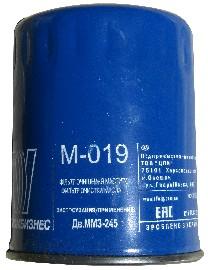 Фильтр масляный неразборный (М-019) (пр-во Промбизнес)
