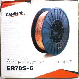 Проволка сварочная 1,2мм (5кг) Gradient