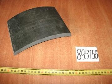Накладка тормозной колодки задней (пр-во Трибо)