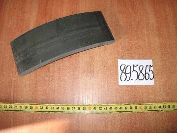 Накладка тормозной колодки (пр-во Украина)
