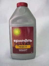 Жидкость тормозная DOT-3 Ярнефть (0,946кг)