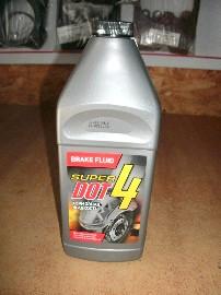 Жидкость тормозная DOT-4 (880гр)
