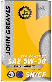 Масло моторное ECO-Power C2 5W30 SN/CF (4дм) (John Greaves)